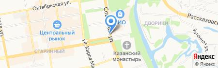 Лицей №6 на карте Тамбова
