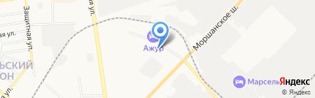 Тамбовский районный отдел судебных приставов на карте Тамбова