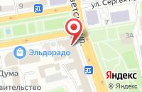 Схема проезда до компании Всероссийское общество автомобилистов в Нижних Вязовых