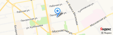 Золотой ключик на карте Тамбова