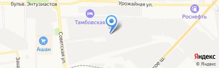 СТРОЙТЭК на карте Тамбова