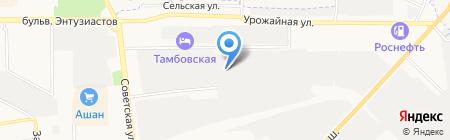 Winttek на карте Тамбова