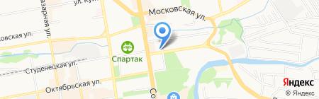 Атлант-Сервис на карте Тамбова