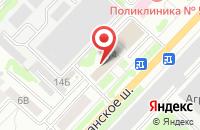 Схема проезда до компании Издательско-полиграфический Дом  в Тамбове