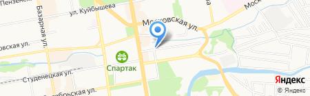 Управление автомобильной магистрали Москва-Волгоград Федерального дорожного агентства на карте Тамбова
