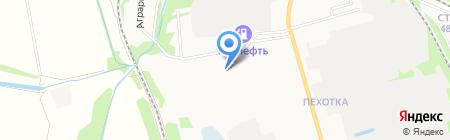Тамбовэнергоналадка на карте Тамбова