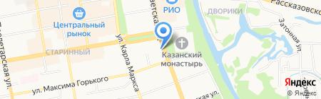 Комитет по инвестициям и стратегическим проектам на карте Тамбова