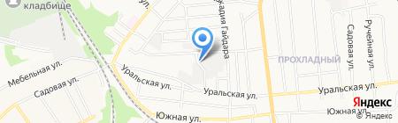 Автостекло на карте Тамбова