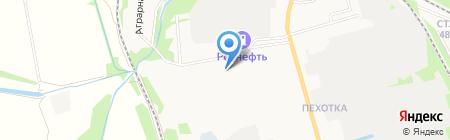Лимонка на карте Тамбова