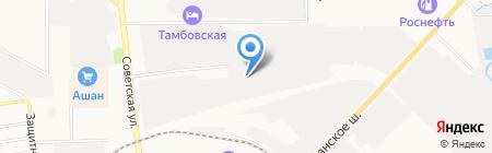 Русхимсеть-Тамбов на карте Тамбова
