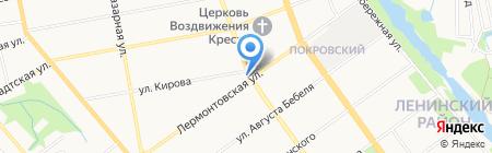 Экон-Тур на карте Тамбова