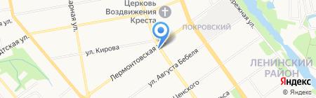 Ивна на карте Тамбова
