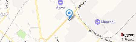 Оптово-розничый магазин чулочно-носочных изделий на карте Тамбова