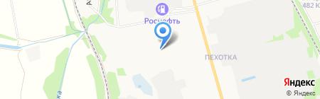 Продуктовый магазин на Астраханской на карте Тамбова