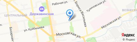 Аптека №167 на карте Тамбова