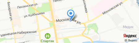 Психотерапевтический медицинский кабинет на карте Тамбова