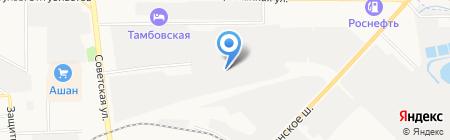 Графика Сервис на карте Тамбова