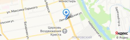 ЛДПР на карте Тамбова