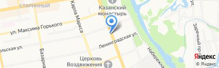 Клуб воздухоплавания и авиатуризма на карте Тамбова
