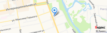 SHIMBA на карте Тамбова