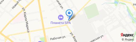 Услада на карте Тамбова
