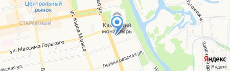 Тамбов ГЕО-ЦЕНТР на карте Тамбова