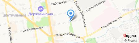 Аптека оптовых цен №1 на карте Тамбова