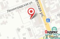 Схема проезда до компании Лик в Куровском