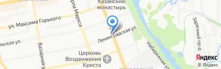 Аппарель на карте Тамбова
