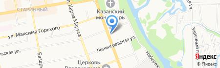 Камины на карте Тамбова