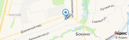 Бокино на карте Бокино