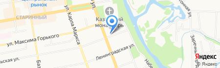 Ханс энд Хеллен на карте Тамбова