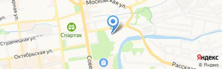 Спасо-Преображенский кафедральный собор на карте Тамбова