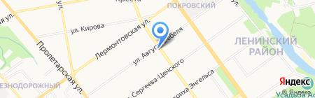 Бухта изобилия на карте Тамбова