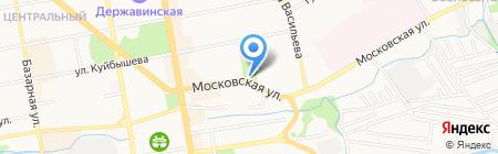 Рубль Бум на карте Тамбова