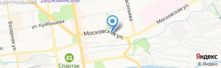 Кардиологический медицинский кабинет на карте Тамбова