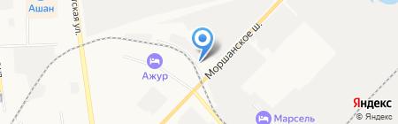 Умный дом на карте Тамбова