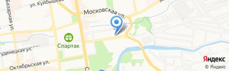 Лицей №29 на карте Тамбова