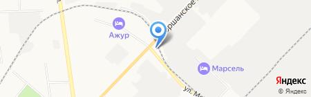 АЗС ТНТ на карте Тамбова