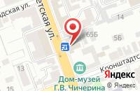 Схема проезда до компании Мария-Ра в Белово