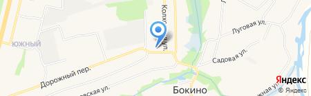 Бокинский на карте Бокино