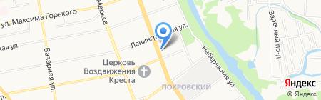 Панацея на карте Тамбова