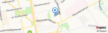 Воскресная школа на карте Тамбова