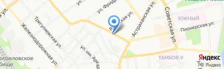 Автостар-Тамбов на карте Тамбова