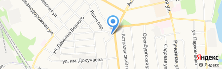 Слаир на карте Тамбова