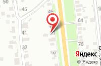 Схема проезда до компании Строительный двор в Осыпном Бугре