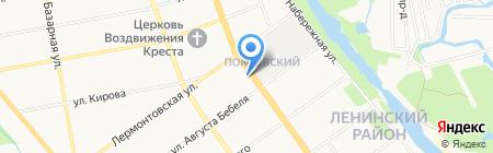 Пожарно-спасательный центр на карте Тамбова