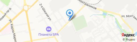 Автопредприятие №1139 на карте Тамбова