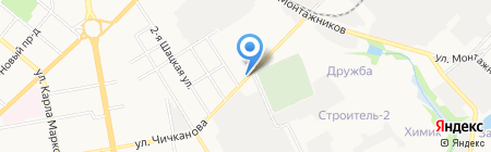НавиКон на карте Тамбова