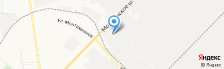 Корпорация Росхимзащита на карте Тамбова